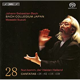 Bach, J.S.: Cantatas, Vol. 28 (Suzuki) - Bwv 26, 62, 116, 139