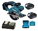 Makita 18V LXT BCS550 BCS550Z BCS550Rfe Circular Saw, 2 X BL1830 Batteries, DC18RC Charger And Case