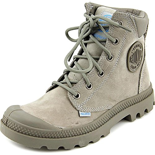Palladium Pampa Cuff Wp Lux Donna US 6 Grigio Stivale UK 4 EU 37