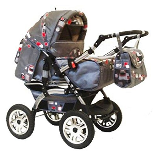 preisvergleich und test kinderwagen kombikinderwagen buggy hartgummmir der szymek lux k1. Black Bedroom Furniture Sets. Home Design Ideas