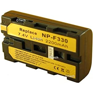 Otech C039VA Batterie pour Caméscope de type Sony NP-F550 7,2 V