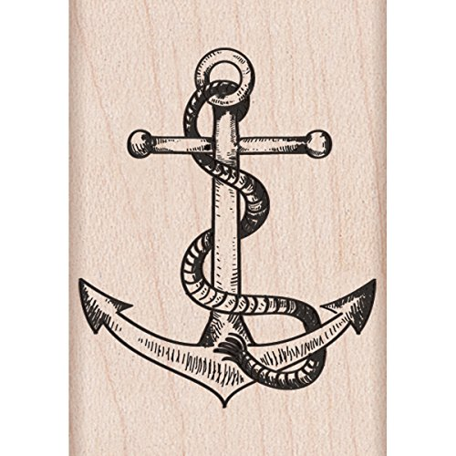 "Hero Arts Anchor Mounted Rubber Stamp, 1.25"" by 2"" - 1"