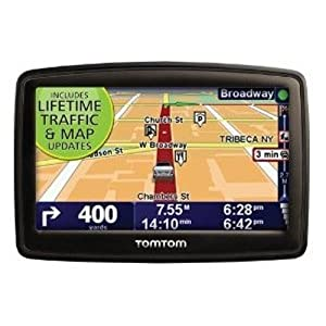 TomTom XXL 540TM 5-Inch Widescreen Portable GPS Navigator (Lifetime Traffic & Maps Edition)