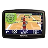 TomTom XXL 540TM 5-Inch Widescreen Portable GPS Navigator (Lifetime Traffic & Maps Edition)(Discontinued by Manufacturer) ~ TomTom