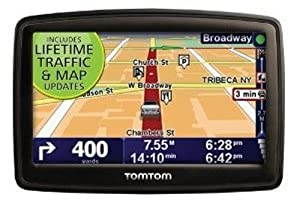 Tomtom XXL 540tm 5-inch Widescreen Portable Gps Navigator Lifetime Traffic & Maps Edition