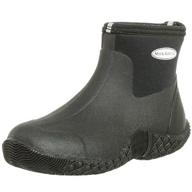 The Original MuckBoots Adult Jobber Boot,Black,4 M US Mens/5 M US Womens