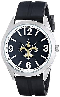 """Game Time Men's NFL-VAR-NO """"Varsity"""" Watch - New Orleans Saints"""