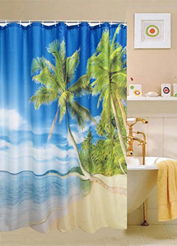 Hawaiian Shower Curtains Shower Curtains Outlet