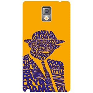 Samsung Galaxy Note 3 N9000 Abstract Matte Finish Phone Cover