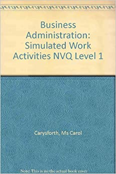 unit 1 business admin nvq level 11 one of the key codes of practice, guidelines and procedures that are relevant  to ones work is proper communication others are accepting responsibility for.