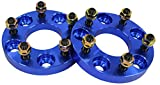 ワイドトレッドスペーサー ワイトレ スペーサー 20mm 青 ブルー PCD 114.3 5H P1.25 P.C.D 1.25 5穴 20ミリ 2枚組