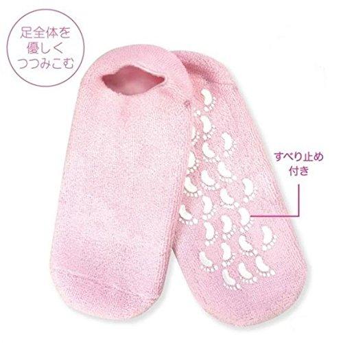 ぷるぷるジェルソックス NC41331 フットケア 靴下 寝ている間にガサガサ肌にうるおい かかとのひび割れに かかとケア