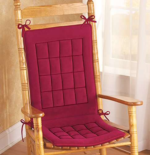 Quilted Padded Comfort Chair Cushion