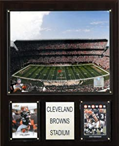 NFL Cleveland Browns Stadium Plaque by C&I Collectables