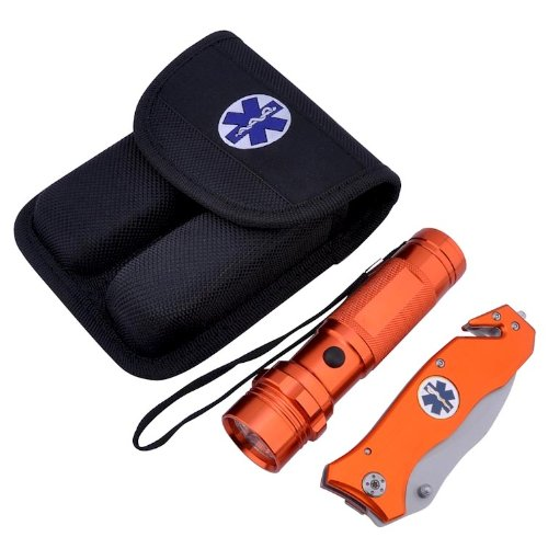 Knife Flashlight Combo Ems Knife/flashlight Combo