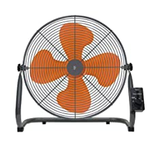 山善(YAMAZEN) 45cm工業扇風機(床置き式)(ロータリースイッチ) YKY-454