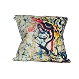DOTLY HOMES CUSHION COVER 16 X 16 COTTON (Cotton, Standard)