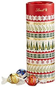 Lindt Lindor Chocolate Truffles Gift Tube, 8.5 Ounce