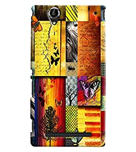 Clarks Printed Designer Back Cover For Sony Xperia T2