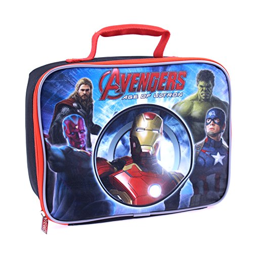 Global Design Concepts Avengers Lunch Kit, Blue - 1