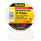 3M Scotch #35 Electrical Tape, White, .75-Inch by 66-Foot by .007-Inch