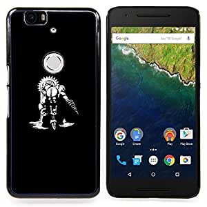 Omega Covers - Snap on Hard Back Case Cover Shell FOR HUAWEI GOOGLE NEXUS 6P - Big Daddy