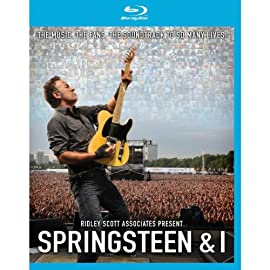 Bruce Springsteen - Springsteen & I (NEW BLU-RAY)