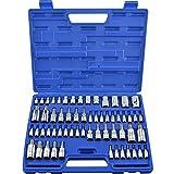 Neiko®  10083A Torx Bit and E Socket Set, Cr- V | 60-Piece Set