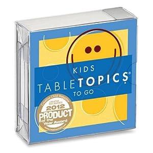 Table Topics Conversation Cards - Kids Topics To Go