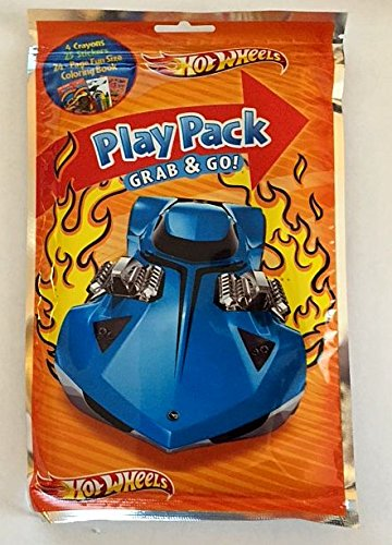Hot Wheels Play Pack Grab and Go