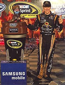 Matt Kenseth Autographed Picture - TROPHY 11X14 COA - Autographed NASCAR Photos by Sports Memorabilia