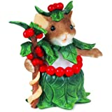 Charming Tails Holly-Day Attire Figurine