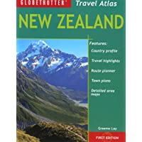 New Zealand Travel Atlas (Globetrotter Travel Atlas) (Paperback)