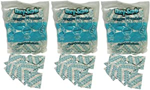 Oxy-Sorb 60-300cc Oxygen Absorbers for Long Term Food Storage, Bags of 20