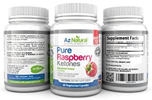 Raspberry Ketones Fresh and Pure Weight Loss and Diet Pills - Advanced Potent Fat Burner For Maximum Fat Break Down - Plus Free Weight Loss Programme - 500 mg Vegetarian Capsules - One Months Supply