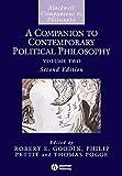 A Companion to Contemporary Political Philosophy