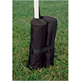 King Canopy INAWB400 17-Inch Weight Bags for Instant Legs, Black, 4-Pack