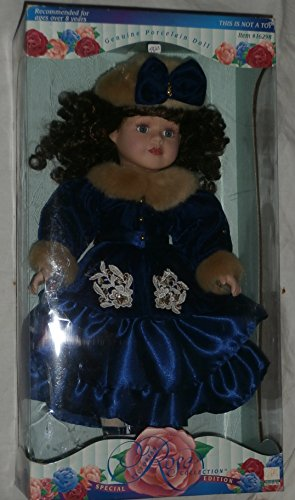 Victorian Rose Collection Genuine Porcelain Doll Special Edition by Melissa Jane