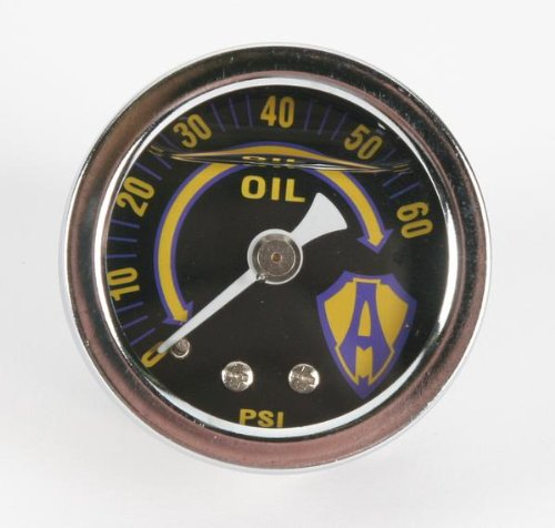 Arlen Ness Liquid-Filled Oil Gauge 15-655