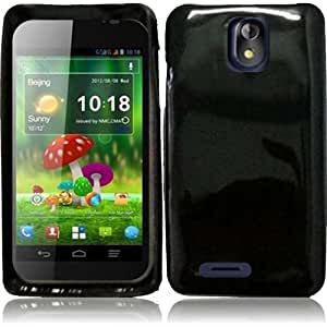 HR Wireless ZTE Engage LT N8000 TPU Cover Case - Retail Packaging - Black