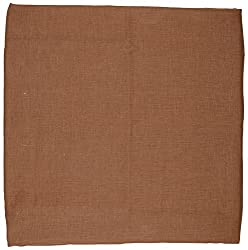 KodTex Pure Linen Unstitched Fabric (Copper)