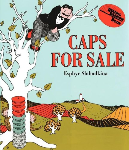Caps For Sale Board Book: A Tale Of A Peddler, Some Monkeys And Their Monkey Business (Reading Rainbow Books) front-485486