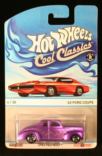 '40 FORD COUPE * 4 of 30 * Hot Wheels 2013 Cool Classics Die-Cast Vehicle