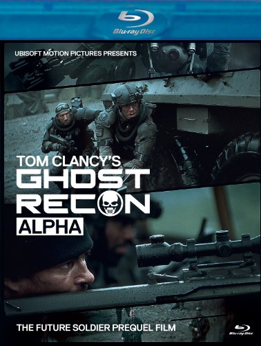 Cover art for  Tom Clancy's Ghost Recon Alpha BluRay + DVD Combo Pack [Blu-ray]