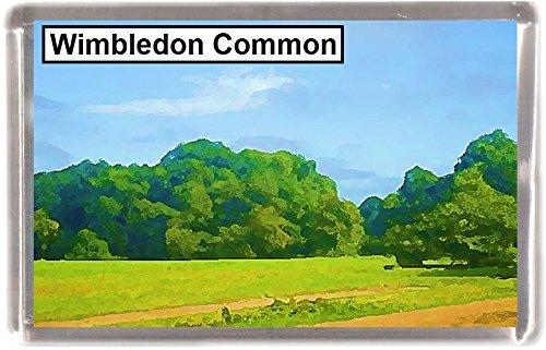 Kühlschrankmagnet Wimbledon Common Geschenk Tourist Souvenir London