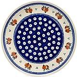 Polish Pottery Boleslawiec Plate, Lunch, 19.5cm in TOMATOES pattern
