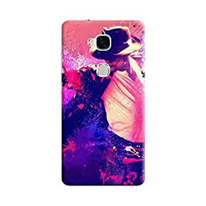 Aurmen High Quality Printed Designer Back Case Cover For Huawei Honor 5x (MichaelJackson1)