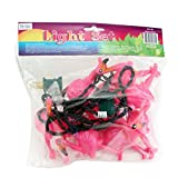 Pink Flamingo Party Lights - 7 ft String