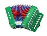 American Music Pro Kid Series Accordion - Green