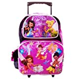 Tinkerbell Large Rolling Backpack